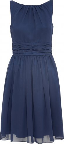 SWING Koktejlové šaty námořnická modř