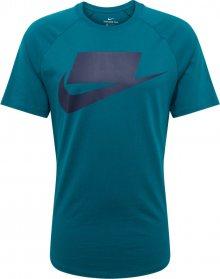 Nike Sportswear Tričko \'M NSW SS TEE NSW 1\' petrolejová