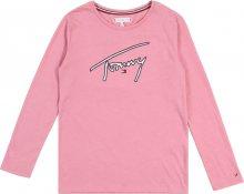 TOMMY HILFIGER Tričko růžová