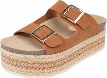Refresh Páskové sandály \'69789\' velbloudí / hnědá