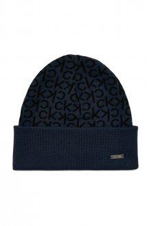 Calvin Klein tmavě modrá čepice Industrial Mono Beanie M Navy