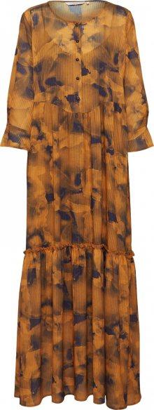 NÜMPH Košilové šaty \'Leighton\' zlatě žlutá