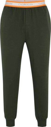 Calvin Klein Underwear Pyžamové kalhoty \'JOGGER\' tmavě zelená