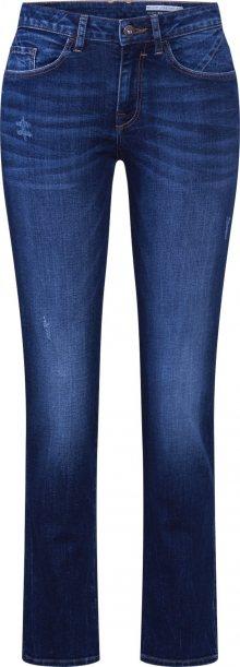 EDC BY ESPRIT Džíny \'OCS MR Straight Pants denim\' modrá džínovina / tmavě modrá