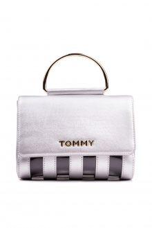 Tommy Hilfiger stříbrná kabelka Youthful Statement Xover Silver