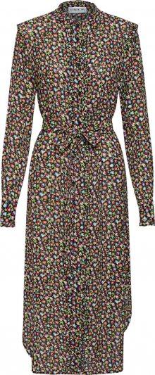 Essentiel Antwerp Košilové šaty \'Tatatou\' červená / černá