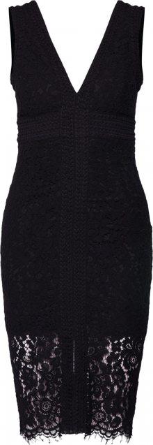 Bardot Šaty \'HALTER LACE DRESS\' černá