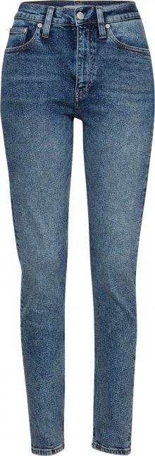Calvin Klein Jeans Džíny \'CKJ 020: High Rise Slim West\' modrá džínovina