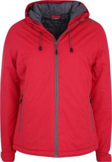 CMP Outdoorová bunda \'FIX HOOD\' červená