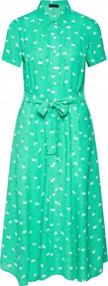 2NDDAY Košilové šaty \'Limelight Anemone\' zelená / bílá