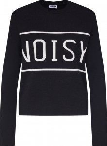 Noisy may Svetr \'NOISY\' černá / bílá