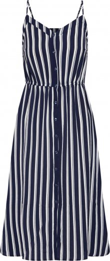 VERO MODA Letní šaty \'VMSASHA\' námořnická modř / bílá