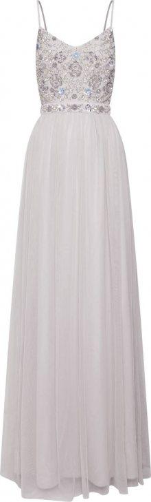 Laona Společenské šaty světle šedá