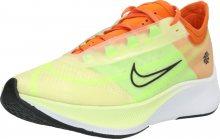 NIKE Běžecká obuv \'WMNS ZOOM FLY 3 RISE\' pastelově žlutá / jablko / oranžová