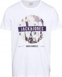 JACK & JONES Tričko \'COPINE\' bílá