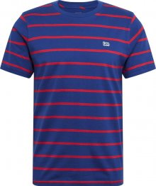 Lee Tričko modrá / červená
