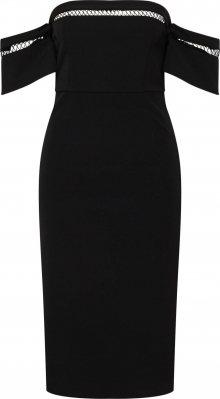 Bardot Koktejlové šaty černá