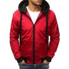 Pánská NEWSTYLE bunda bomber jacket červená