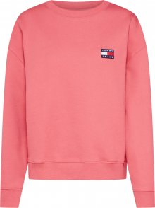 Tommy Jeans Mikina \'BADGE CREW\' pink