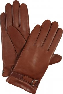 ROECKL Prstové rukavice \'Delicate Buckle\' hnědá