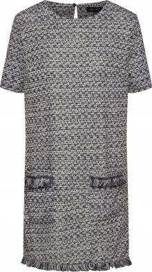 NEW LOOK Šaty šedá / černá / bílá