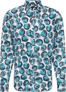 BOSS Košile \'Relegant\' modrá / bílá