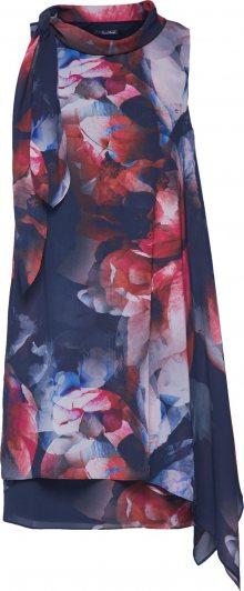 Vera Mont Koktejlové šaty tmavě modrá / červená