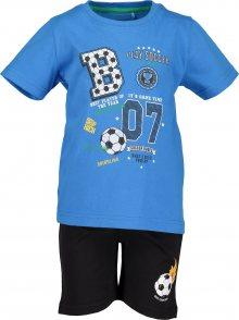 BLUE SEVEN Sada \'kl Kn Set: T-Shirt + Shorts\' tyrkysová