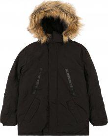 STACCATO Zimní bunda černá