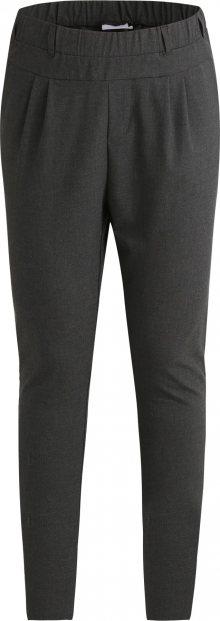 Kaffe Kalhoty šedý melír