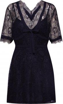 Fashion Union Šaty \'TRACE\' černá