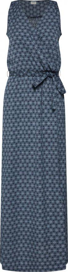 JACQUELINE De YONG Letní šaty \'KAMMA\' námořnická modř / bílá