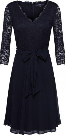 Esprit Collection Koktejlové šaty \'Octavia\' černá