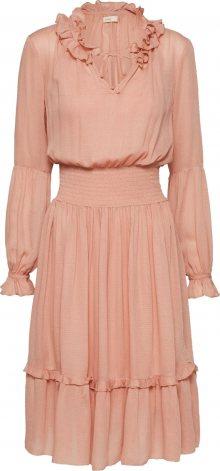 Levete Room Košilové šaty meruňková / růžová