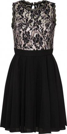 VM Vera Mont Koktejlové šaty krémová / černá