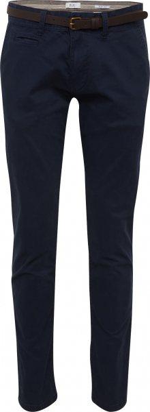 EDC BY ESPRIT Chino kalhoty \'Noos Chino\' námořnická modř