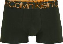 Calvin Klein Underwear Boxerky tmavě zelená / oranžová