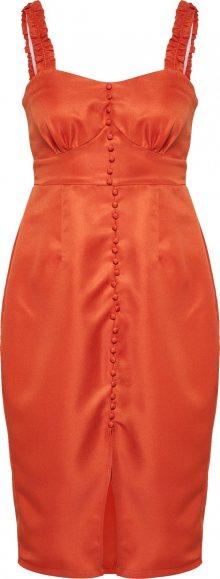 Missguided Šaty oranžová