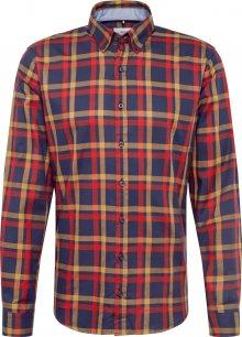 BRAX Košile \'Daniel\' modrá / žlutá / červená