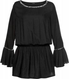 LASCANA Plážové šaty černá