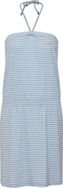 mazine Šaty námořnická modř / bílá