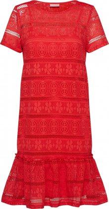 VILA Šaty \'VILITTA\' ohnivá červená