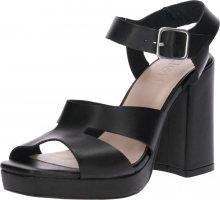 Zign Lodičky \'Heeled Sandals\' černá