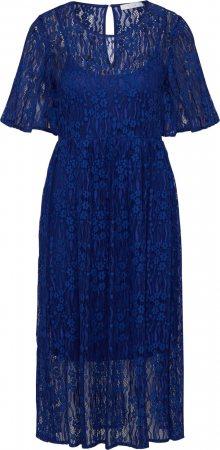VILA Šaty modrá