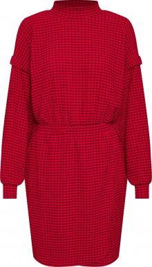 EDITED Šaty \'Imen\' červená / černá
