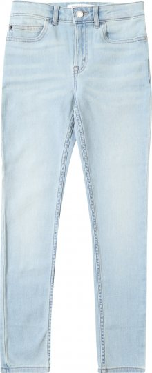 Calvin Klein Jeans Džíny \'SKINNY HR VALE LIGHT BLUE STR\' modrá džínovina