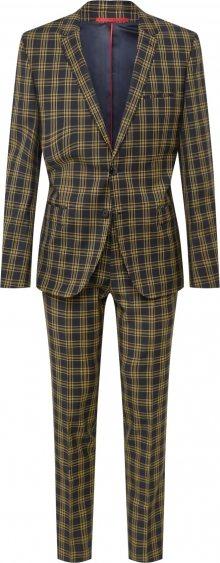 HUGO Oblek \'Arti/Hesten193 10218984 01\' žlutá / černá