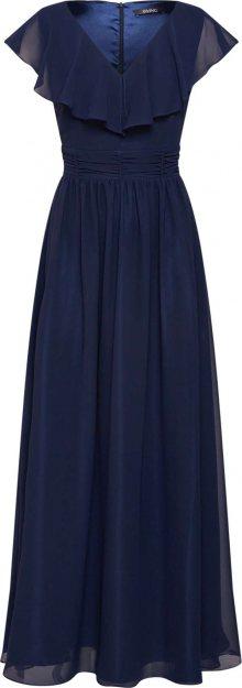 SWING Společenské šaty marine modrá