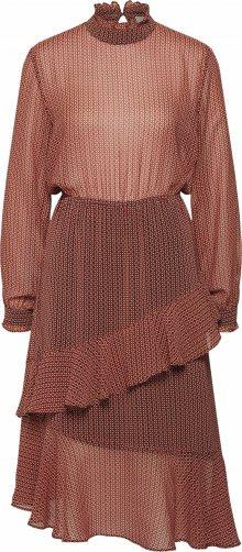 SECOND FEMALE Šaty \'Leen Dress\' červená
