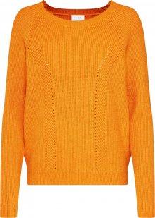 VILA Svetr jasně oranžová